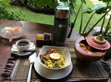 balinese breakfast (bubur)